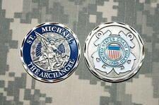 Challenge Coin NEW US Coast Guard 1790 St Michael The Archangel - New Listing