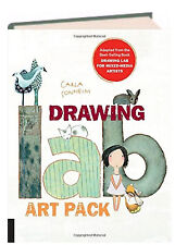 Drawing Lab Art Pack A Fun Creative Exercise Book & Sketchpad NEW