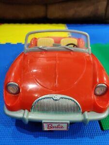 Vintage Barbie 1998 Red Car Convertible Roadster Mattel