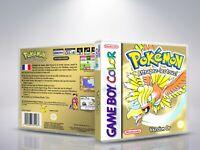 Pokemon - Version OR - GameBoyColor - Cover/Case - (NO Game) - FR/US