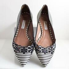 TABITHA SIMMONS SHOES FLATS STRIPED 39/9
