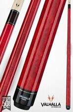 Valhalla by Viking 2 Piece Pool Cue with case - Red - Lifetime Warranty!