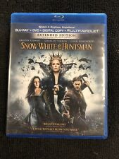 Snow White and the Huntsman (Blu-ray Disc, 2016, UltraViolet Includes Digital...