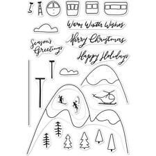 Hero Arts Poly Clear Stamp Set Ski Holiday