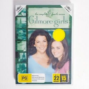 Gilmore Girls Season 4 DVD Region 4 AUS TV Series Free Postage - Family Comedy