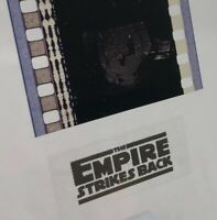 Vintage STAR WARS: EMPIRE STRIKES BACK Film Strip (5 Cells) LUKE @ BESPIN