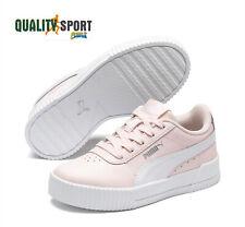 Puma Carina L Rosa Bianco Scarpe Shoes Bambina Sportive Sneakers 370678 07 2020
