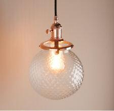 Lámpara colgante de iluminación de techo de interior para el dormitorio de bronce
