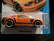 HW HOT WHEELS 2014 HW CITY #92/250 FORD MUSTANG GT HOTWHEELS ORANGE VHTF RARE