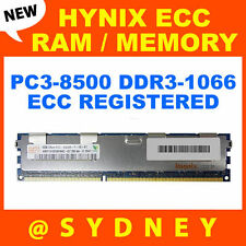 NEW HYNIX 4GB PC3-8500R DDR3-1066Mhz ECC REGISTERED RAM