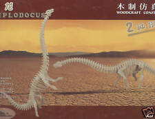 "IDEAL REVENDEUR LOT DE 15 PUZZLES EN 3D "" DIPLODOCUS"""