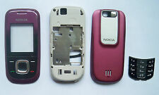 Red fascia facia housing case faceplate Cover case for Nokia 2680S 2680 Slide