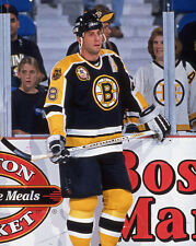 1995 Boston Bruins CAM NEELY Glossy 8x10 Photo Hockey Print Poster