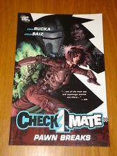 Checkmate pion breaks DC roman graphique 9781401214456