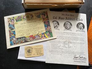 ec comics 2000 fan-addict membership kit Golden Anniversary Tales From The Crypt