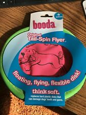 "Booda - Original Tail-Spin Flyer 9-1/2"" Diameter Floppy Dog Frisbee"
