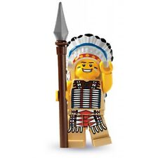 #3 LEGO Minifig series 3 8803 Indian Chief cowboy games