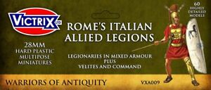 VICTRIX ~ ANCIENT ~ ROME'S ITALIAN ALLIED LEGIONS ~ NEW ~ UNOPENED