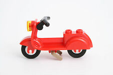 Lego Scooter rouge pour figurine / Red scooter NEW Set 10243 Parisian Restaurant
