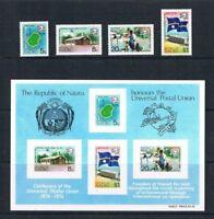 Nauru - 1974 - Universal Postal Union - SC 114-117a [SG 122-MS125] MNH 20