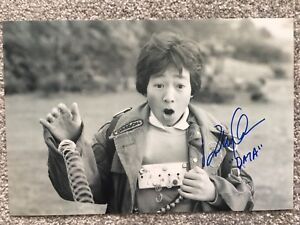 The Goonies Jonathan Ke Quan Hand Signed 12x8 Photo. Data. Rare Item.