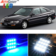 10 x Premium Blue LED Lights Interior Package Kit for Honda Accord 94-97 + Tool