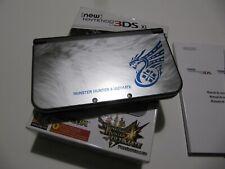 NEW NINTENDO 3DS XL MONSTER HUNTER 4 ULTIMATE EDICION LIMITADA