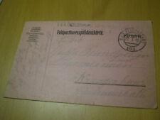 !!TOP!! Feldpostkorrespondenzkarte 22.1.1915 K.u.K. Feldpostamt 103
