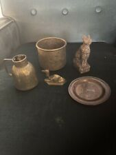 More details for antique collection of loft finds job lot metal detecting finds victorian egypt