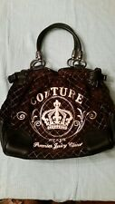 juicy couture quilted velour handbag