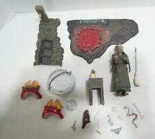 AURORA THE WITCH 1965 VINTAGE MONSTER MODEL KIT PARTIALLY BUILT PAINTED PARTS