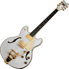 Schecter Signature Robin Zander Corsair Electric Guitar in Gloss White Finish