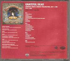 "Grateful Dead ""Crimson, White & Indigo: Philadelphia, 1989"" Advance 3cd + DVD"