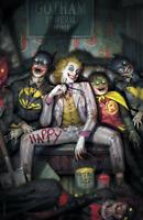 Joker 80th Anniversary - Ryan Brown - Virgin Variant - DC