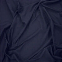 """NAVY BLUE - 64"""" Wide 100% Cotton Jersey Fabric Sold Per Metre Super Soft Fabric!"""