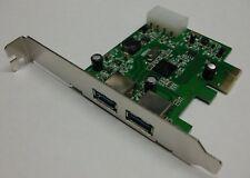 2fach USB 3.0 PCI Express Karte   #d822
