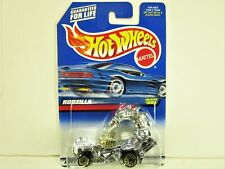 HOT WHEELS 1999 RODZILLA CHROME WITH GOLD WIRE WHEELS AND ENGINE COLLECTOR 991
