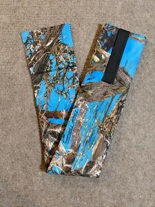 Blue Camo Cordura Horse Tail Bag