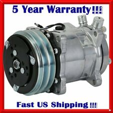 A/C Compressor and Clutch For Sanden SD508 Jeep Wrangler AC