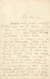 Alain FOURNIER - Jacques RIVIERE - Lettre autographe signée. Le Grand Meaulnes.