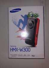 NEW Samsung HMX-W300YN High Definition Camcorder-YELLOW