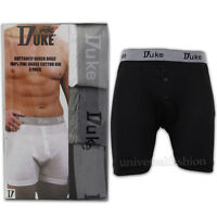 Mens 3 Pack Trunks Underwear Boxers By Duke Big King Size