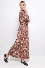 robe longue marron taille unique collection automne hiver 2020-2021