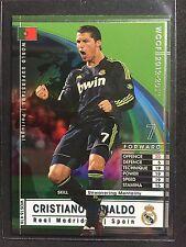 2012-13 Panini WCCF WOS Cristiano Ronaldo Rare refractor card Real Madrid