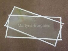 2 x Replacement Protection Screen to Protect glass on Magnum Sand Blast Cabinet