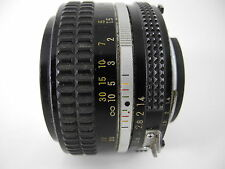 NIKON NIKKOR 50/1.4 AI LENS PERFECT GLASS SHOWS WEAR ON THE BARREL VERY SHARP