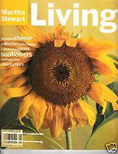 Martha Stewart Living Cheese Picnic Sunflowers Tree (Number 32 September 1995)