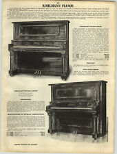 Advertising Other Collectible Ads 1925 Paper Ad Schofield Pianos Small Grand Player Piano Parker Fountain Pen Pens