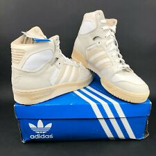 adidas Originals Conductor High Hi Tops White Gray Beige Mens 12 G50769