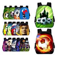 Football Sports Messi Student Lightening Backpack School Bookbag Travel Bag